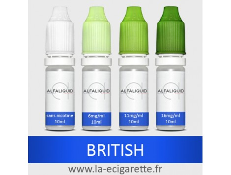 Tabac British Alfaliquid - 10 ml