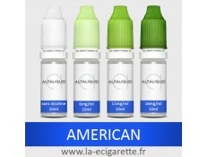 Tabac American Alfaliquid - 10 ml