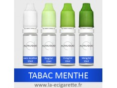 Tabac Menthe Alfaliquid - 10 ml