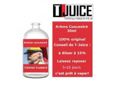 Concentré Colonel Custard T-JUICE 10 ml