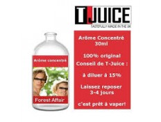Concentré Forest Affair T-JUICE - 30 ml