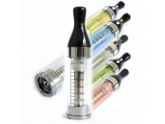 Lot de 5 Clearomizers CE6 T2 translucide 2,4 ml
