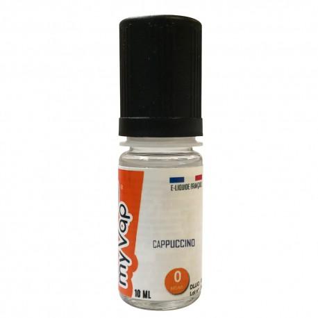 Cappuccino e-Liquide MyVap - 10 ml