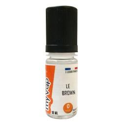 Brown e-Liquide MyVap - 10 ml