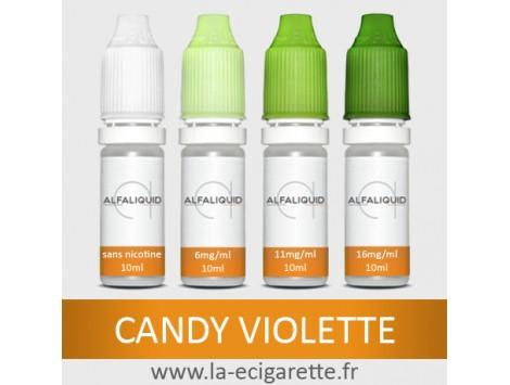 eLiquide Bonbon Violette Alfaliquid - 10 ml